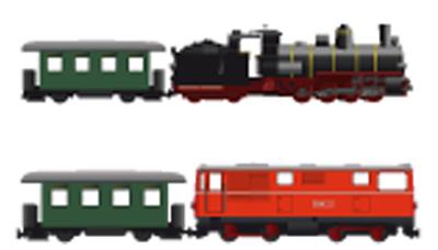 Diesel- oder Dampflok